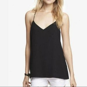 NEW Express reversible cami black/grey NWT medium